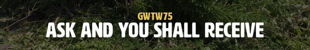Ask And You Shall Receive (GWTW75)