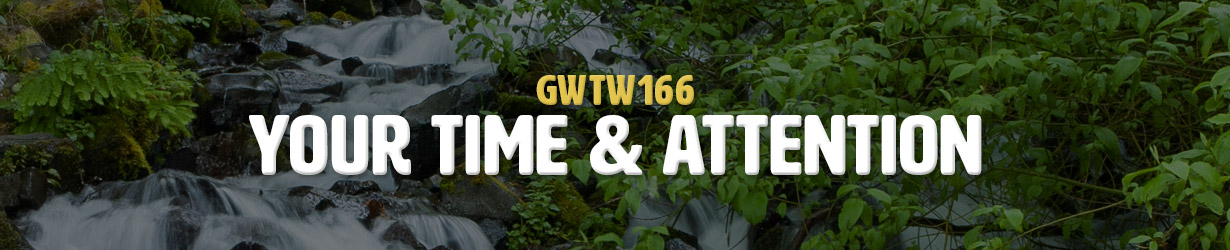 Your Time & Attention (GWTW166)