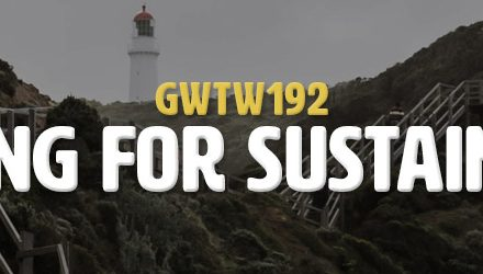 Searching For Sustainability (GWTW192)