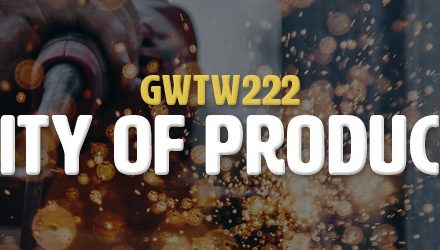 Agility of Production (GWTW222)
