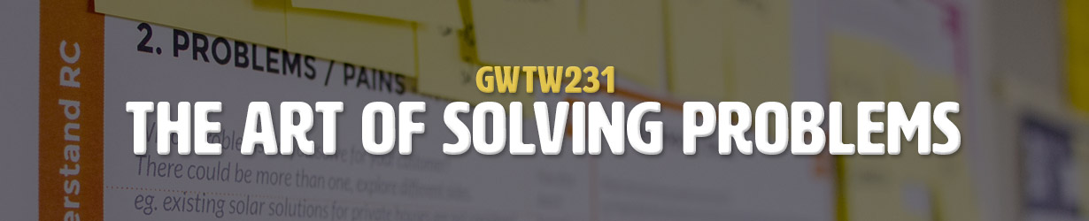 The Art of Solving Problems (GWTW231)
