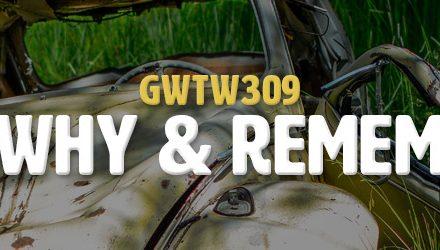 Forget Why & Remember Joy (GWTW309)