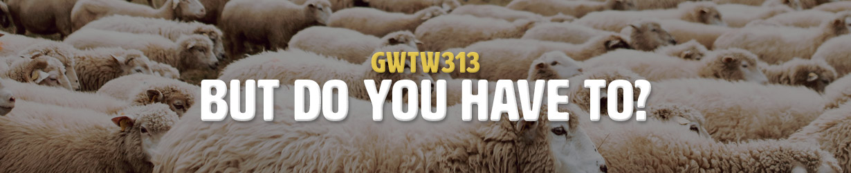 But Do You Have To? (GWTW313)