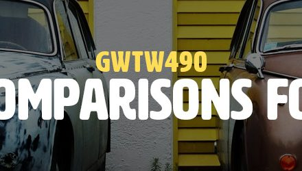 Using Comparisons for Good (GWTW490)