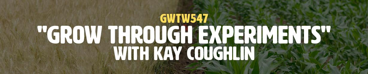 """Grow Through Experiments"" with Kay Coughlin (GWTW547)"